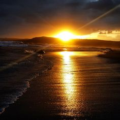 The 25 best small towns in South Africa   SAvisas.com - Coffee Bay   An ocean-side sunrise. Alphabetical Order, Small Towns, South Africa, Sunrise, Ocean, Landscape, Coffee, Country, Places