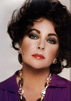 Elizabeth Taylor Such beauty.  She is so beautiful and truly the most beautiful woman in the world.