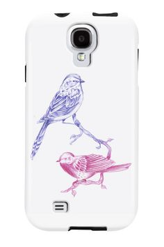 Birds in color Phone Case for iPhone 4/4s,5/5s/5c, iPod Touch, Galaxy S4