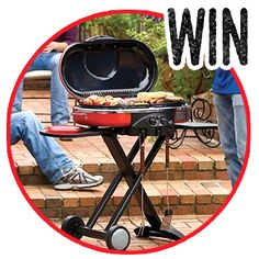 You Could Win a Coleman RoadTrip Propane Grill
