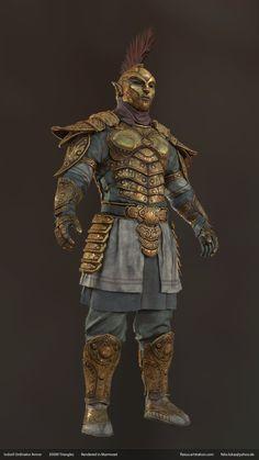 ArtStation - Indoril Ordinator Armor , Felix Lukas