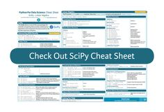SciPy cheat sheet for linear algebra in Python