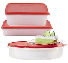 Ask me how to order or go to my2.tupperware.com/ericagguerra Tupperware | Contain It All Set