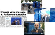 Citoyens, exprimez-vous, le Parlement européen vous écoute! RP : Manifeste