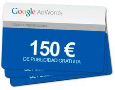 cupón 150€ gratis en tu campaña Adwords