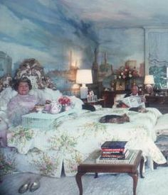 The Peak of Chic®: Breakfast Tray Chic Scully And Scully, Slim Aarons, Breakfast Tray, Town And Country, Current Mood, Beautiful Interiors, Yorkie, Daisy, Van