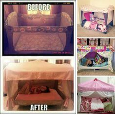 Cute idea for old playpen