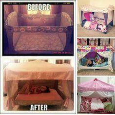 Pack N Play Makeover Diy Toddler Bed Kids Room Diy