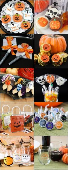 #ad Fall Halloween Wedding Ideas - Personalized Fall Halloween Cookies and…