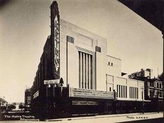 The very first Metro Theatre in Johannesburg. Opened 1932, closed 1972.