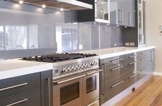 #kitchen #splashback #glass