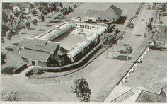 Tempo Doeloe- Tjentrum Tjwembaad. Kolam Renang Centrum Bandoeng 1920-1930