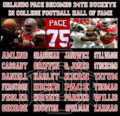 ORLANDO PACE BECOMES 24TH BUCKEYE IN THE COLLEGE FOOTBALL HOF,OSU ALUMNI CLUB OF KANSAS CITY.