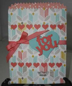 Mini Treat Bag, Best Year Ever DSP, Stampin' Up!