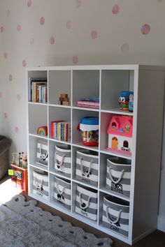 New small kids room organization toys play areas Ideas - Baby Rooom Living Room Toy Storage, Playroom Storage, Kid Toy Storage, Storage Ideas, Diy Storage, Storage Solutions, Small Playroom, Playroom Ideas, Playroom Design