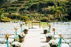 decoração de casamento rústica e romântica - diário de noiva