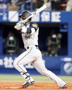 阪神原口が先制適時打「いい打球が行って良かった」