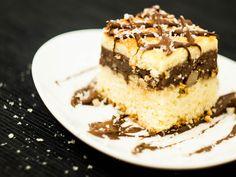 """Ciasto """"Danio"""" z budyniem czekoladowym"""