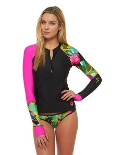 cce106001c Body Glove Akela Sleek Rashguard Rashguard Swimsuit Women