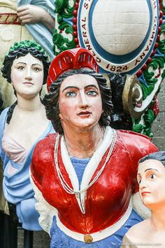 The ship figureheads in the Cutty Sark in Greenwich are great. This guide to a day in Greenwich, London will show you the Greenwich London observatory, National Maritime Museum, Cutty Sark, Queen's House, Old Royal Naval College, Painted Hall, Greenwich Park, and more. This is one of the best places in London to visit. #greenwich #london #figureheads #cuttysark Greenwich Market, Greenwich London, Greenwich Observatory, Best Places In London, Ship Figurehead, Maritime Museum, London Travel, Day Trip, Trip Planning