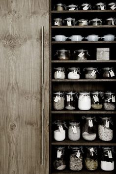 Jars of All Shapes and Sizes | Kitchen