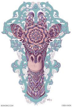 giraffe patterns | Tumblr