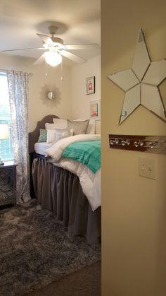 0a876cacfc2 DORM ROOM MAKEOVER BEDROOM. Coretta Finnell · University Village Suites  Dorm - Kennesaw State University