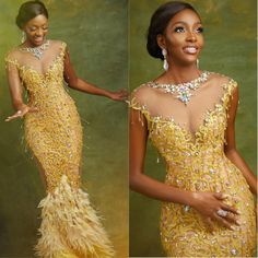 2019 Gorgeous Asoebi Styles for Wedding African Prom Dresses, African Fashion Dresses, African Dress, African Wedding Attire, African Attire, Bride Reception Dresses, Kente Dress, African Lace Styles, Nigerian Dress