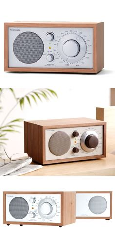 Tivoli Model Two // radio + speaker, cherry wood. #industrial_design