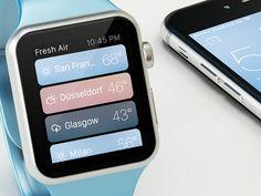 Fresh Air Apple Watch