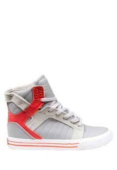 SUPRA Skytop in Grey and Orange http://findanswerhere.com/outdoor