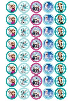 Search Results for Frozen on Frozen Cupcake Toppers, Frozen Cupcakes, Frozen Cake, Bolo Frozen, Frozen Themed Birthday Party, Disney Frozen Birthday, Birthday Party Themes, Carnival Birthday, Birthday Bar