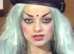 Punk Makeup, Nina Hagen, Punk Goth, Madonna, The Darkest, Halloween Face Makeup, Goddesses, Dark Side, Beauty