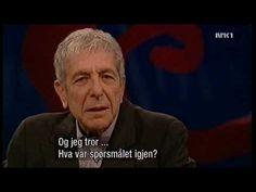 Leonard Cohen & Anjani Thomas at Først & sist, NRK, 2007, part 2 of 2