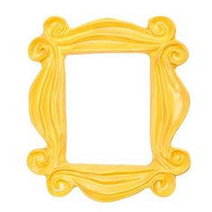 Monica's Peephole Frame from Friends TV Show