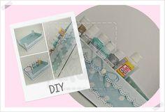 DIY - Reciclar Caixa de Madeira - passo a passo by Pink&Fun