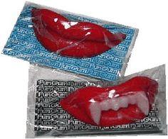 Retro Halloween Candy: Wax Fangs