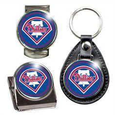Philadelphia Phillies Key Chain Money Clip Magnet Gift Set
