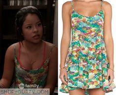 The Fosters: Season 3 Episode 7 Mariana's Pineapple Green Dress