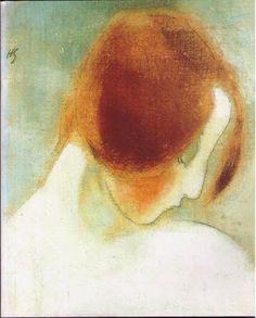 ramon john spider et nina: :: Helene Schjerfbeck Helene Schjerfbeck, L'art Du Portrait, Abstract Portrait, Portraits, Abstract Images, Famous Artists, Face Art, Figurative Art, Illustrators