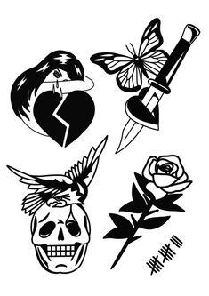 Flash Art Tattoos, Body Art Tattoos, Sketch Tattoo Design, Tattoo Sketches, Tattoo Drawings, Kritzelei Tattoo, Doodle Tattoo, Headdress Tattoo, Tattoo Catalog