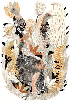 IIIINSPIRED: ART, ILLUSTRATION _ bird bird bird, the bird is the word!