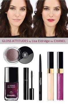 Chanel Makeup Tutorial, Lip Gloss, Shop the Look