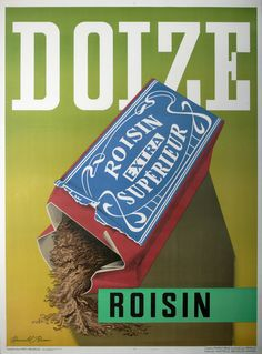 Doize / Roisin - Affiches Marci. Vintage poster by Brun Donald  Marci  Brussels