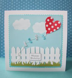 handmade cards with kites - Google Search
