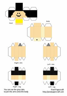Minecraft Templates, Minecraft Crafts, Minecraft Stuff, Papercraft Minecraft Skin, Painting Minecraft, Mc Skins, Minecraft Drawings, Craft Projects, Projects To Try
