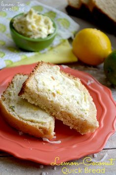 Lemon-Coconut Quick Bread | Or So She Says