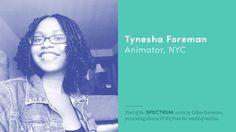 SPECTRUM: Tynesha Foreman http://motionographer.com/2016/10/24/spectrum-tynesha-foreman/?utm_campaign=coschedule&utm_source=pinterest&utm_medium=Justin&utm_content=SPECTRUM%3A%20Tynesha%20Foreman