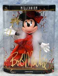 Bob Mackie's Millennium Minnie Mouse by Mattel, 2000