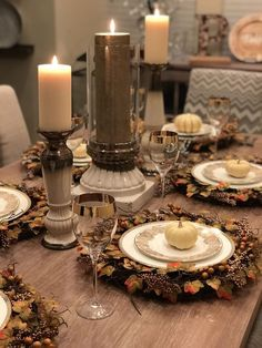 37 Way to Thanksgiving Table Decor To Inspire